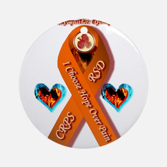 I Choose Hope Over Pain CRPS RSD Ornament (Round)