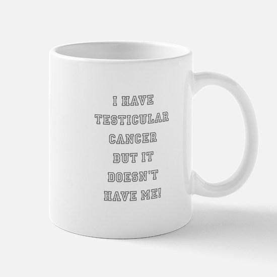 TESTICULAR CANCER Mug