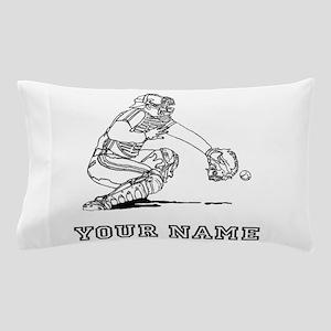 Baseball Catcher (Custom) Pillow Case
