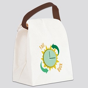 Fall Back Canvas Lunch Bag