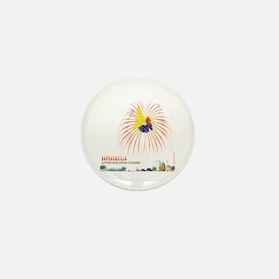 Barranquilla Mini Button
