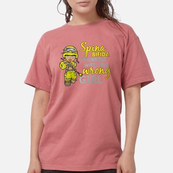 -Spina Bifida Combat Girl 1D T-Shirt