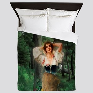 Wood Nymph Queen Duvet