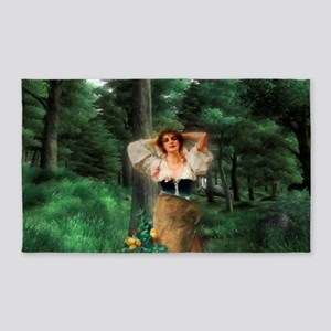 Wood Nymph Area Rug