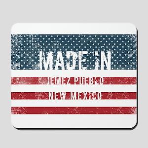 Made in Jemez Pueblo, New Mexico Mousepad