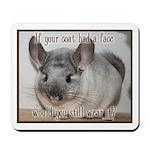 Chinchilla Coat Mousepad