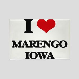 I love Marengo Iowa Magnets