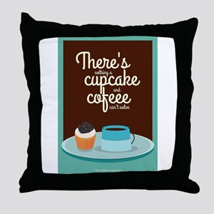There's nothing a cupcake Marie Willi Throw Pillow