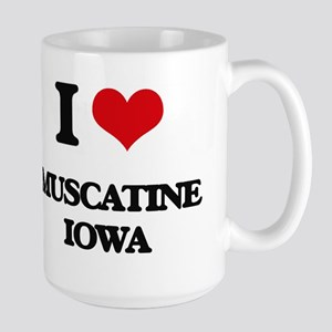 I love Muscatine Iowa Mugs