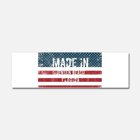 Made in Jensen Beach, Florida Car Magnet 10 x 3
