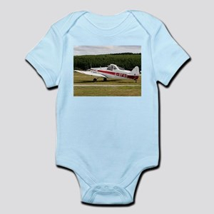 Low wing tricycle glider tow plane Body Suit