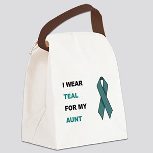 MY AUNT Canvas Lunch Bag