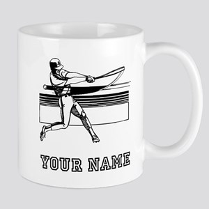 Baseball Batter (Custom) Mugs
