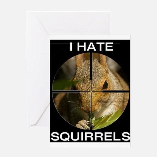 Squirrel/Scope Greeting Card
