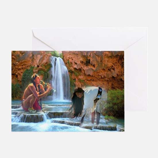 Water Song Ii Card Greeting Cards