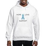 'Hope Love Support' Hooded Sweatshirt