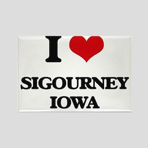 I love Sigourney Iowa Magnets