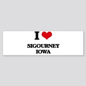 I love Sigourney Iowa Bumper Sticker