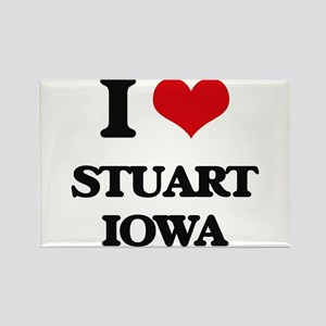 I love Stuart Iowa Magnets