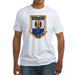 USS COOK Fitted T-Shirt