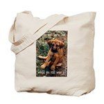 Dog Coat Tote Bag
