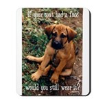Dog Coat Mousepad