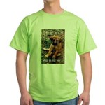 Dog Coat Green T-Shirt