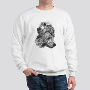 Irish Wolfhound Pair Sweatshirt