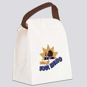 Soul Music Canvas Lunch Bag