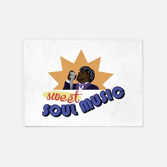 Soul Music 5'x7'Area Rug