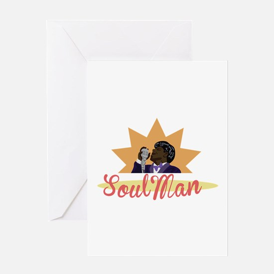 Soul Man Greeting Cards