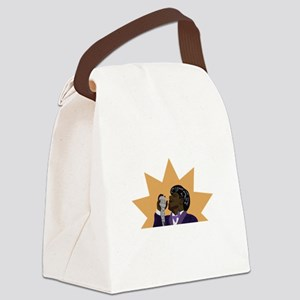James Brown Canvas Lunch Bag
