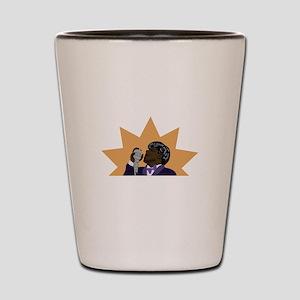 James Brown Shot Glass
