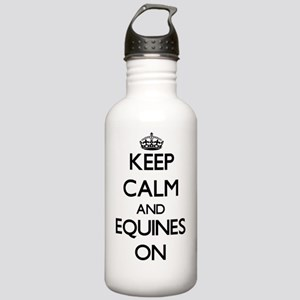 Keep Calm and EQUINES Stainless Water Bottle 1.0L