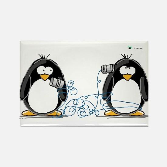 Communication - Penguin Humor Magnets