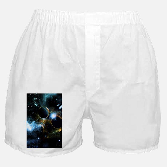 The universe of planets Boxer Shorts