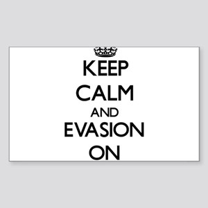 Keep Calm and EVASION ON Sticker