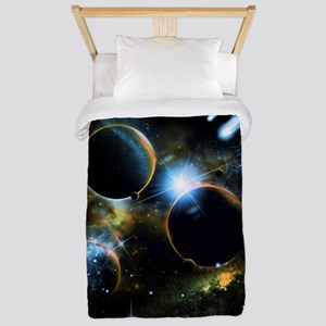 The universe of planets Twin Duvet