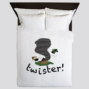 Twister! Queen Duvet