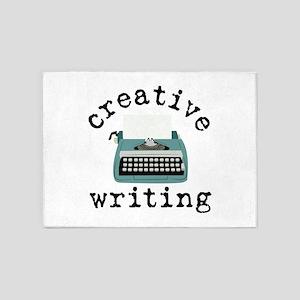 Creative Writing 5'x7'Area Rug