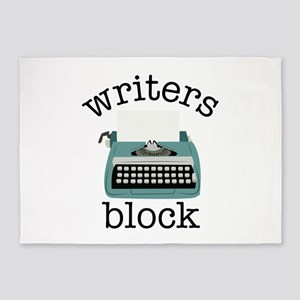Writers Block 5'x7'Area Rug
