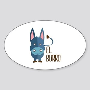 El Burro Sticker