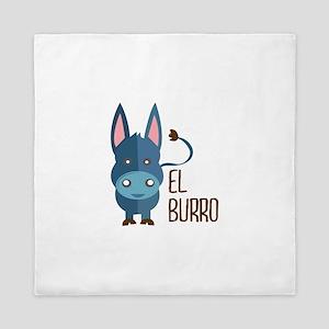 El Burro Queen Duvet