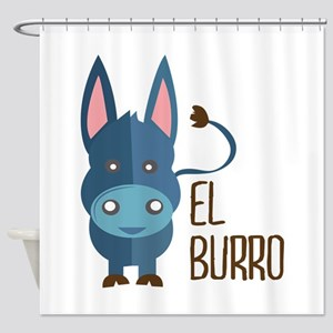 El Burro Shower Curtain