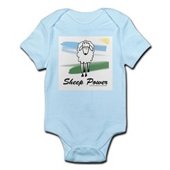 Sheep Power Infant Creeper