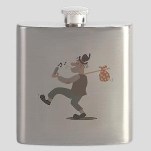 Hobo Whistler Flask