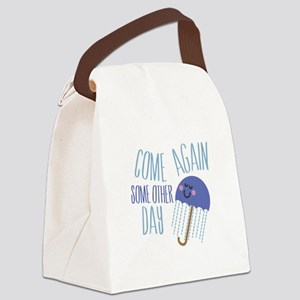 Come Again Canvas Lunch Bag