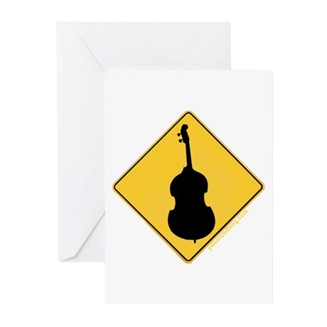 Crossing Zone Bass Greeting Cards (Pk of 10)