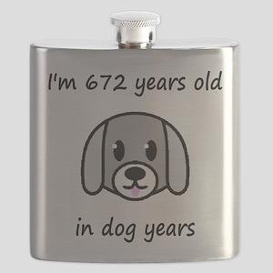 96 dog years 2 Flask
