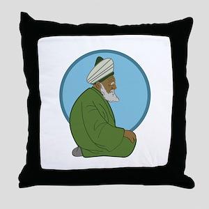 Sufi Man Throw Pillow
